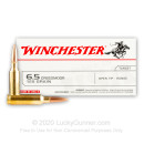 Cheap 6.5 Creedmoor Ammo For Sale - 125 Grain OT Ammunition in Stock by Winchester USA - 200 Rounds