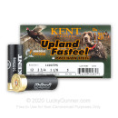 """Premium 12 Gauge Ammo For Sale - 2-3/4"""" 1-1/8oz. #5 Steel Shot Ammunition in Stock by Kent Upland Fasteel - 25 Rounds"""