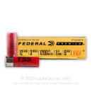 """Premium 12 Gauge Ammo For Sale - 3"""" 1-3/4oz. #9 Shot Ammunition in Stock by Federal Heavyweight TSS - 5 Rounds"""
