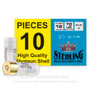 "Cheap 12 Gauge Ammo For Sale - 2-3/4"" 1oz. Rifled Slug Ammunition in Stock by Sterling Tornado - 10 Rounds"