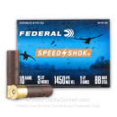 "Cheap 10 Gauge Ammo For Sale - 3-1/2"" 1-1/2oz. BB Steel Shot Ammunition in Stock by Federal Speed-Shok - 25 Rounds"