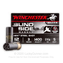 "Bulk 12 Gauge Ammo For Sale - 3"" 1-3/8 oz. #5 Shot Ammunition in Stock by Winchester Blind Side Magnum Pheasant - 250 Rounds"