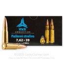 Cheap 7.62x39 Ammo For Sale - 124 Grain FMJ Ammunition in Stock by ZVS - 20 Rounds