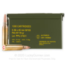 Bulk 5.56x45 Ammo For Sale - 55 Grain FMJBT M193 Ammunition in Stock by Prvi Partizan - 1000 Rounds in Ammo Can