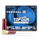 "Cheap 28 Gauge Ammo For Sale - 2-3/4"" 3/4oz. #7.5 Shot Ammunition in Stock by Federal Top Gun Sporting - 25 Rounds"