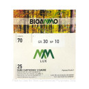 """Bulk 12 Gauge Ammo For Sale - 2-3/4"""" 1-1/16oz. #10 Shot Ammunition in Stock by BioAmmo Lux Lead - 250 Rounds"""