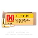Bulk 6.5 Grendel Ammo For Sale - 123 gr SST Ammunition In Stock by Hornady - 200 Rounds