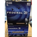 "Cheap 12 Gauge Ammo For Sale - 3"" 1-1/4oz. #4 Steel Shot Ammunition in Stock by Federal Speed-Shok - 25 Rounds"