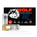 """Bulk 12 Gauge Ammo For Sale - 2-3/4"""" 1oz. #8 Shot Ammunition in Stock by Wolf Target Sport - 250 Rounds"""