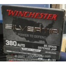 Cheap 380 Auto Ammo For Sale - 85 Grain JHP Ammunition in Stock by Winchester Silvertip - 20 Rounds