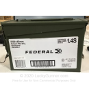 Bulk 5.56x45 Ammo For Sale - 55 Grain FMJBT XM193 Ammunition in Stock by Federal American Eagle - 400 Rounds in Ammo Can