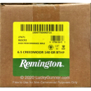 Bulk 6.5 Creedmoor Ammo For Sale - 140 Grain BTHP Ammunition in Stock by Remington High Performance Rifle - 20 Rounds