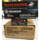 Bulk 40 S&W Ammo For Sale - 180 Grain FMJE Ammunition in Stock by Winchester Ranger - 500 Rounds