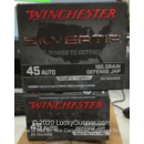 Bulk 45 ACP Ammo For Sale - 185 Grain JHP Ammunition in Stock by Winchester Silvertip - 200 Rounds