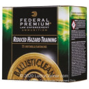 "Premium 12 Gauge Ammo For Sale - 2-3/4"" 3/4oz. Frangible Rifled Slug Ammunition in Stock by Federal Reduced Hazard Training Low Recoil - 25 Rounds"