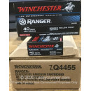 Bulk 40 S&W Ammo For Sale - 180 Grain Bonded JHP Ammunition in Stock by Winchester Ranger - 500 Rounds