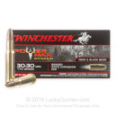 Premium 30-30 Ammo For Sale - 170 Grain PHP Ammunition in Stock by Power Max Bonded - 20 Rounds