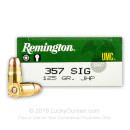 Bulk 357 Sig Defense Ammo For Sale - 125 gr JHP - Remington Ammunition In Stock - 500 Rounds