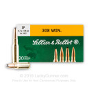 308 Ammo For Sale - 180 gr SP - Sellier & Bellot Ammo Online