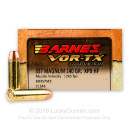 357 Magnum Barnes Ammo For Sale - 140 gr XPB Hollow Point Barnes Ammunition In Stock - 20 Rounds