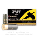 """Bulk 12 ga 2-3/4"""" Golden Pheasant Fiocchi Shells For Sale - 2-3/4"""" Nickel Plated Lead #6 Loads by Fiocchi Golden Pheasant - 250 Rounds"""