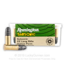 22 LR Subsonic Ammo For Sale - 38 gr LRN - Remington Subsonic Ammunition In Stock - 100 Rounds