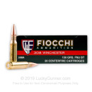 Cheap 308 Winchester Range Ammo - 150 gr Full Metal Jacket - Fiocchi - 20 Rounds