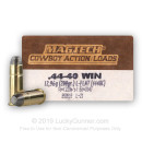 44-40 WCF (Win) - 200 gr LFN - Magtech Cowboy Action Loads - 50 Rounds