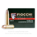 Cheap 30 Carbine Ammo For Sale - 110 Grain FMJ-BT Ammunition in Stock by Fiocchi Shooting Dynamics - 50 Rounds