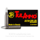 Bulk 223 Rem Ammo For Sale - 55 Grain Full Metal Jacket Ammunition in Stock by Tula - 1000 Rounds