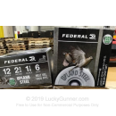 """Cheap 12 Gauge Ammo For Sale - 2-3/4"""" 1-1/8oz. #6 Shot Ammunition in Stock by Federal Upland Steel - 25 Rounds"""