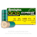 """Cheap12 Gauge Ammo For Sale - 2-3/4"""" 1-1/8 oz. #5 Lead Shot Ammunition in Stock by Remington XLR - 25 Rounds"""