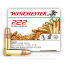 Cheap .22LR Ammo For Sale – 36 Grain Copper Plated Hollow Point Ammunition in Stock by Winchester – 222 Rounds