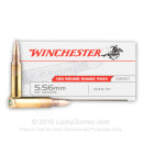 Cheap 5.56x45mm Ammo For Sale - 62 Grain OT Ammunition in Stock by Winchester - 180 Rounds