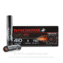 """Premium 410 ga Ammo For Sale - 3"""" 4 Plated Discs over 16 Plated BB's Buckshot Ammunition by Winchester Supreme Elite PDX1 - 10 Rounds"""