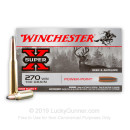 Cheap 270 Ammo For Sale - 130 gr PP - Winchester Super-X Ammo Online - 20 Rounds