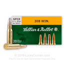 Cheap 308 Ammo For Sale - 180 gr SPCE - Sellier & Bellot Ammo Online - 20 Rounds