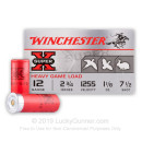 """Cheap 12 Gauge Ammo - 2-3/4"""" Small Game Shot Shells - 1-1/8 oz - #7.5 Lead Shot - Winchester Super-X - 25 Rounds"""