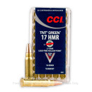 17 HMR Ammo For Sale - 16 gr TNT Hollow Point - CCI Ammunition In Stock - 50 Rounds