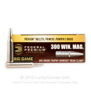 Premium 300 Win Mag Ammo For Sale - 200 Grain Trophy Bonded Bear Claw Ammunition in Stock by Federal - 20 Rounds