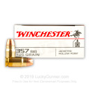 Bulk .357 SIG Ammo For Sale - 125 Grain JHP Ammunition in Stock by Winchester USA - 500 Rounds