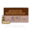 45 LC Ammo For Sale - 250 gr LFN - Magtech Ammunition In Stock - 50 Rounds
