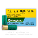 "Premium 12 Gauge Ammo For Sale – 2-3/4"" 5/8 oz. Frangible Sabot Slug Ammunition in Stock by Remington Disintegrator - 25 Rounds"