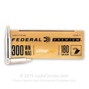 Premium 300 Winchester Magnum Ammo For Sale - 180 Grain Trophy Bonded Tip Ammunition in Stock by Federal Vital-Shok - 20 Rounds