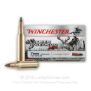 Cheap 7mm Remington Magnum Ammo For Sale - 140 Grain Polymer Tip Ammunition in Stock by Winchester Deer Season XP - 20 Rounds
