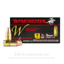 9mm Ammo For Sale - 147 gr FMJ - Winchester Train & Defend Ammunition In Stock 50 Rounds