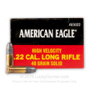 Cheap 22 LR - 40 gr LRN - Federal American Eagle- 50 Rounds