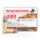 22 LR Ammo For Sale - 36 gr Copper Plated Hollow Point Ammunition CPHP - Winchester - 3330 Rounds