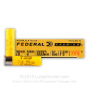 """Premium 20 Gauge Ammo For Sale - 3"""" 1-5/8oz. #7/9 Shot Ammunition in Stock by Federal Heavyweight TSS - 5 Rounds"""