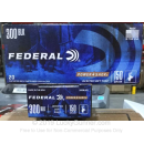Premium 300 AAC Blackout Ammo For Sale - 150 Grain JSP Ammunition in Stock by Federal Power-Shok - 20 Rounds